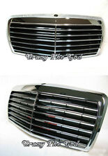 W124 1985-1993 Pre-Facelift GRILLE/GRILL ASSAY 13MD CHROME/BLACK Mercedes-Benz