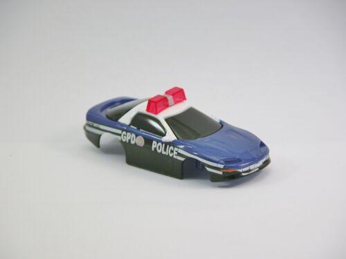 Tyco Ho Slot Car  Carrosserie neuve Chevrolet Police Department Gotham City