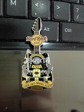 HARD ROCK CAFE JAKARTA GRAND OPENING LOVE ALL SERVE ALL GUITAR STAFF PIN LE200