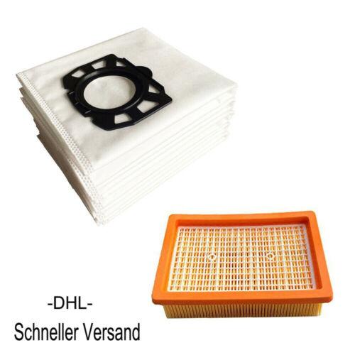 Staubsaugerbeutel Flachfilter Für Kärcher 2.863-006.0 MV WD 4 5 6 P 2.863-005.0
