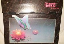 Vtg Unused Mead Trapper Keeper Folders & Notebook Pop Art Butterfly Binder