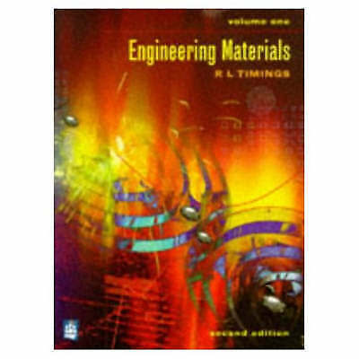 1 of 1 - Engineering Materials: v. 1, Acceptable, Mr R.L. Timings, Book
