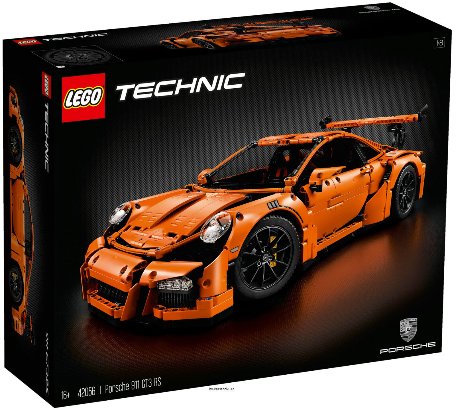 LEGO® Technic 42056  Porsche 911 GT3 RS, NEU & OVP - versiegelt (Originalkarton)