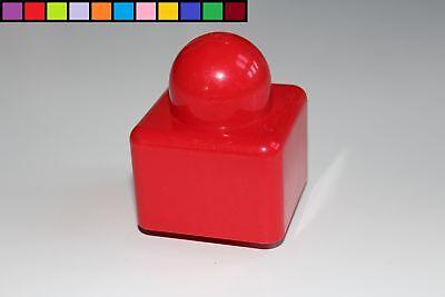 1 x 2 x 2-2er BOTTONI Rosso 3 MATTONCINI Pietre LEGO DUPLO ALTO