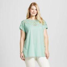 e8f831b3f9c item 1 NWT Ava   Viv Plus Size Cold Shoulder Burnout T-Shirt Shirt Top Pink  Mint Gray -NWT Ava   Viv Plus Size Cold Shoulder Burnout T-Shirt Shirt Top  Pink ...