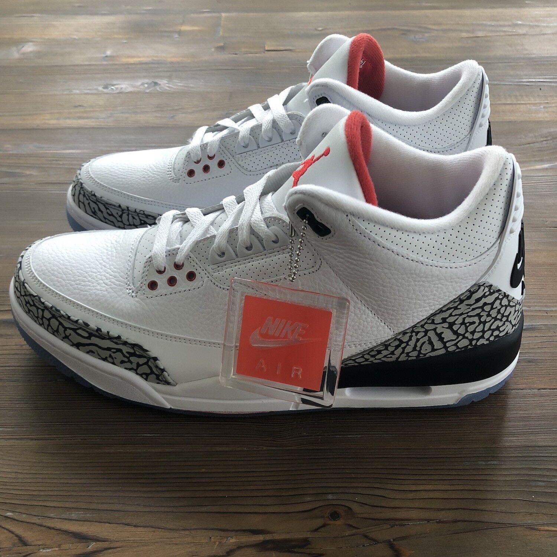 New Nike Air Jordan Retro 3 Free Throw Line NRG Size 11.5 US   10.5 UK Deadstock