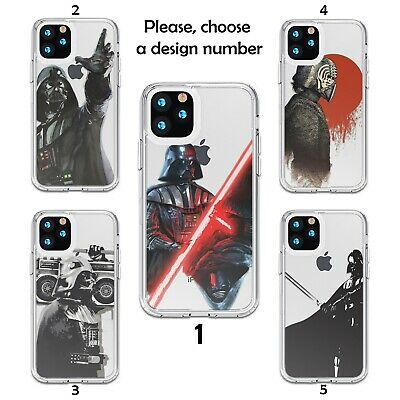 Darth Vader Star Wars case for iPhone 12 11 Pro Max XR SE X XS 8 7 silicone SN | eBay