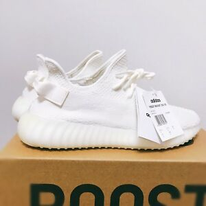 official photos 7752f c765b Image is loading Adidas-Yeezy-Boost-350-V2-CP9366-Triple-White-
