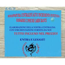 ELABORAZION CENTRALINA+EGR/FAP OFF-ECU TUNING ALFA ROMEO 159 1.9 JTD 16V - 150CV