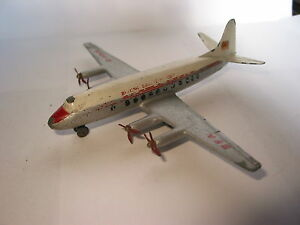 DINKY-TOYS-AVION-VISCOUNT-BRITISH-AIRWAYS