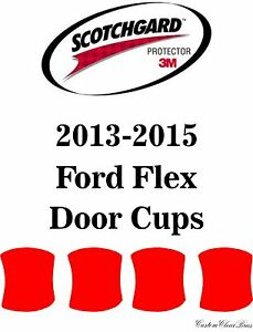 3M Scotchgard Paint Protection Film Clear Bra Pre-Cut 2013 2014 2015 Lexus RX