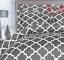 Utopia-Bedding-3-Piece-Printed-Duvet-Cover-Set-with-2-Pillow-Shams-Queen-Grey miniature 6