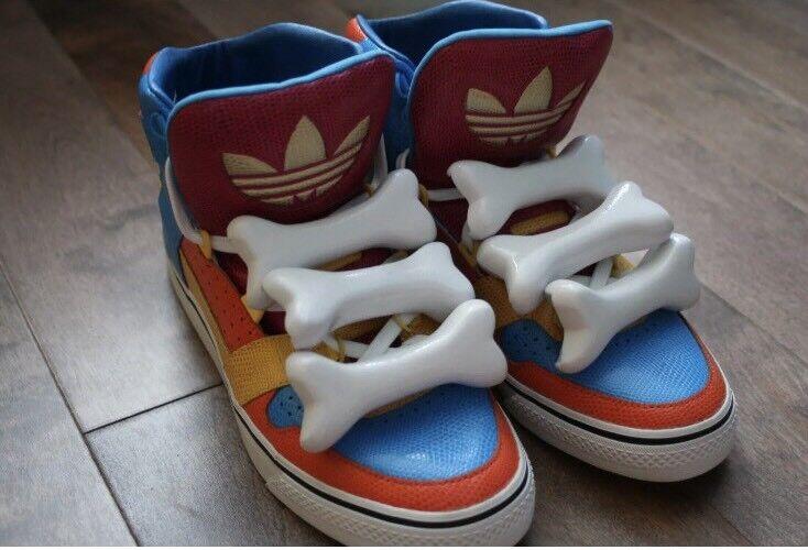 Adidas jeremy scott ossa raro! multicolore dimensioni 7, d65201, raro! ossa 2d5eb2