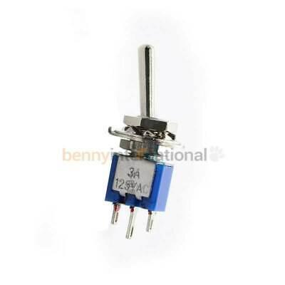 SPDT ON-ON TOGGLE SWITCH Solder 3 PIN 2 Position 102 Auto 12V 24V 240V