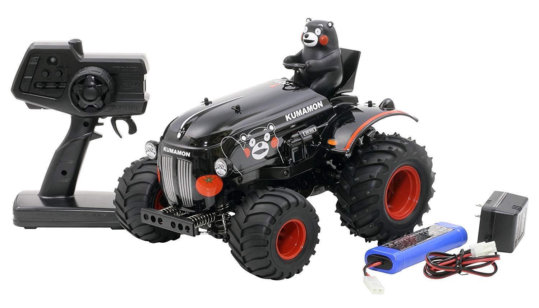 Tamiya 1 10 XB No.181 Tractor Kumamon Ver. RC  Drive Set finito Product 57881  ti aspetto