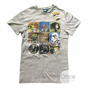 Primark Official Mens Star Wars Cast Of Characters Picture