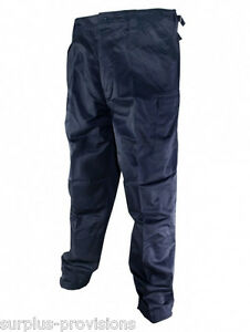 New Navy Blue BDU Army Cargo Pants - Choice of sizes - Military ...