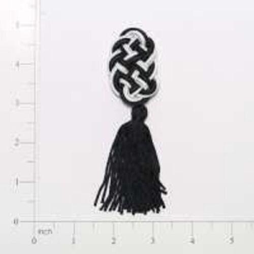 Black /& White Decorativo Borla X 1