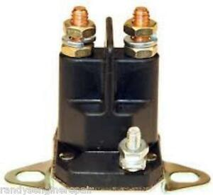 SMALL ENGINE 12 VOLT - 3 POLE STARTER SOLENOID MURRAY PART # 424485 on