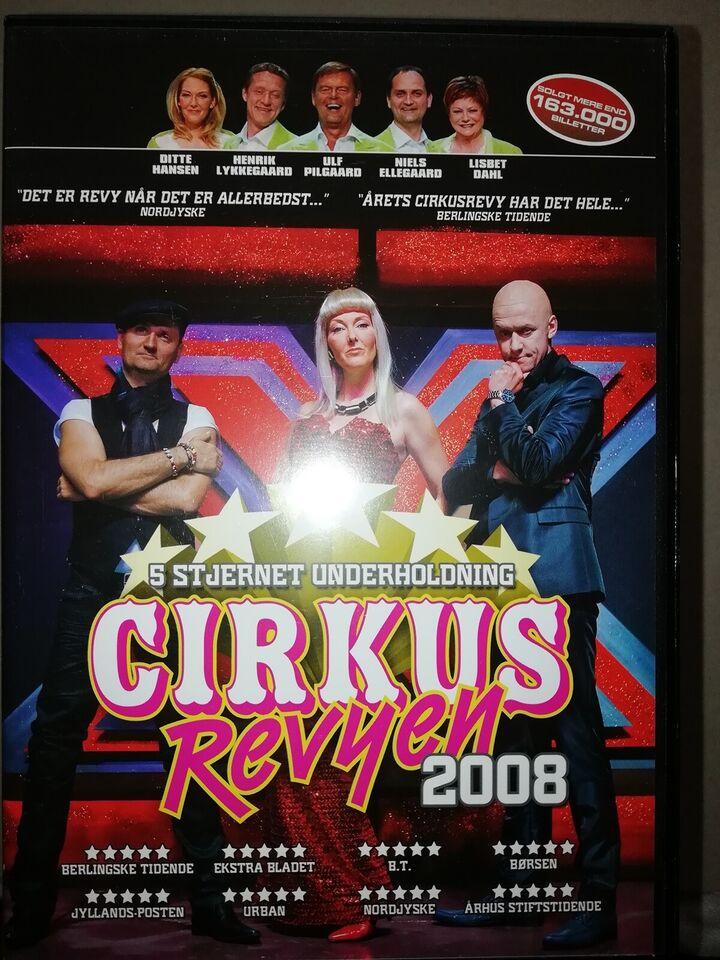 Cirkus revyen diverse , DVD, musical/dans