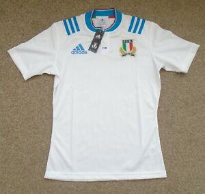 BNWT Moyen Homme Italie Rugby Union shirt ADIDAS (2015/16)