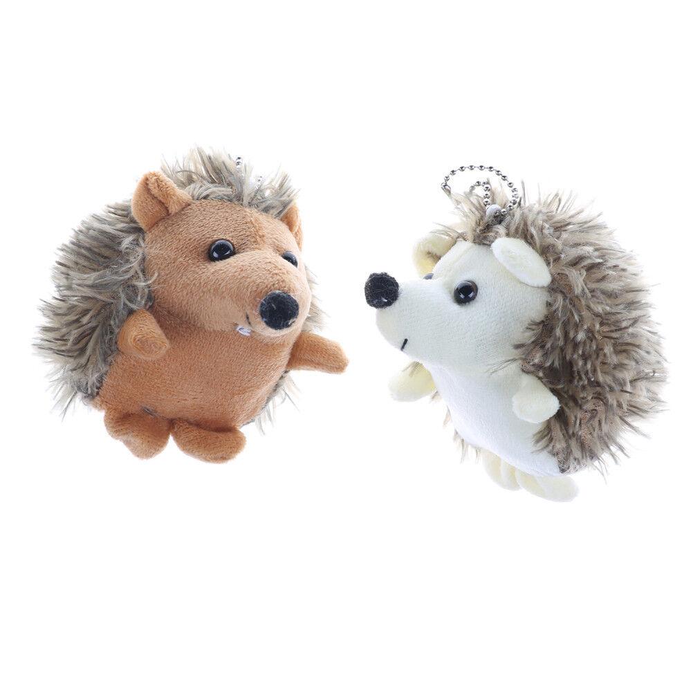 10cm kawaii Igel Animal Plüsch gefüllt Spielzeug Spielzeug gefüllt Puppen Schlüsselanhänger ZP b6ef1b