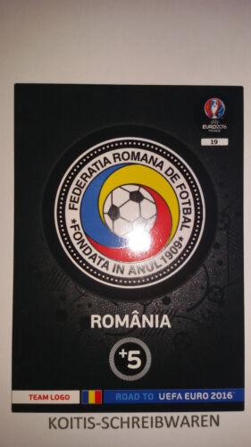 Panini Adrenalyn XL ROAD TO UEFA EURO EM 2016 TEAM BADGES Auswahl choose