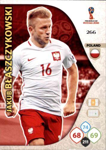 Panini coupe du monde Russia 2018-Nº 266-Jakub Blaszczykowski-équipe Mate