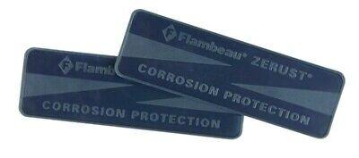 NEW Flambeau Zerust Plastabs Rust Prevention For Tackle Box 10//Pk 6643ZR