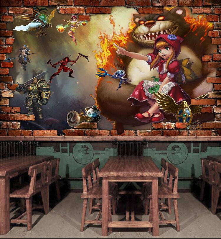 3D gioco 366 Parete Murale Foto Carta da parati immagine sfondo muro stampa