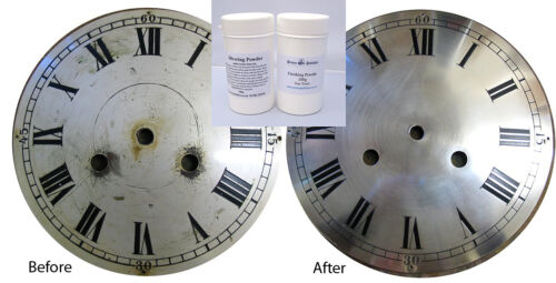 100g Clock Dial Silvering Powder - Free Finishing Powder