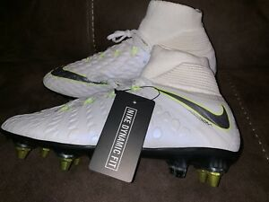 reputable site 3f3a0 cb76a Details about Nike Hypervenom III Elite Dynamic Anti-Clog SG-PRO Soccer  AJ3812-108 Mens 7