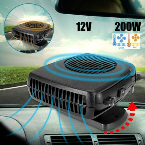 200W Car Truck Portable Auto Heater Heating Cooling Fan Defroster Demister 12V
