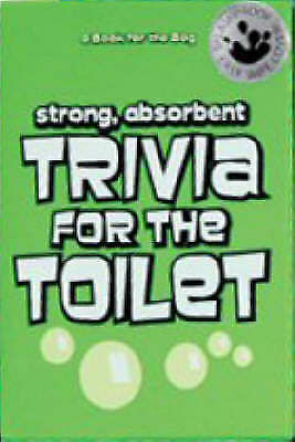 """""""AS NEW"""" Trivia for the Toilet (A Book for the Bog), , Book"""