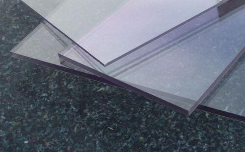 PET PET-G PETg Platte Zuschnitt klar 1000 x 500 x 0,5 mm