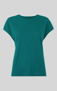 Whistles - Minimal Cap Sleeve - Green - New with tag - Size XS - 8