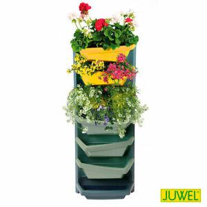 Juwel-20125-Vertical-Garden-System-Aufbauelement-titan-mit-safrangelb-20125
