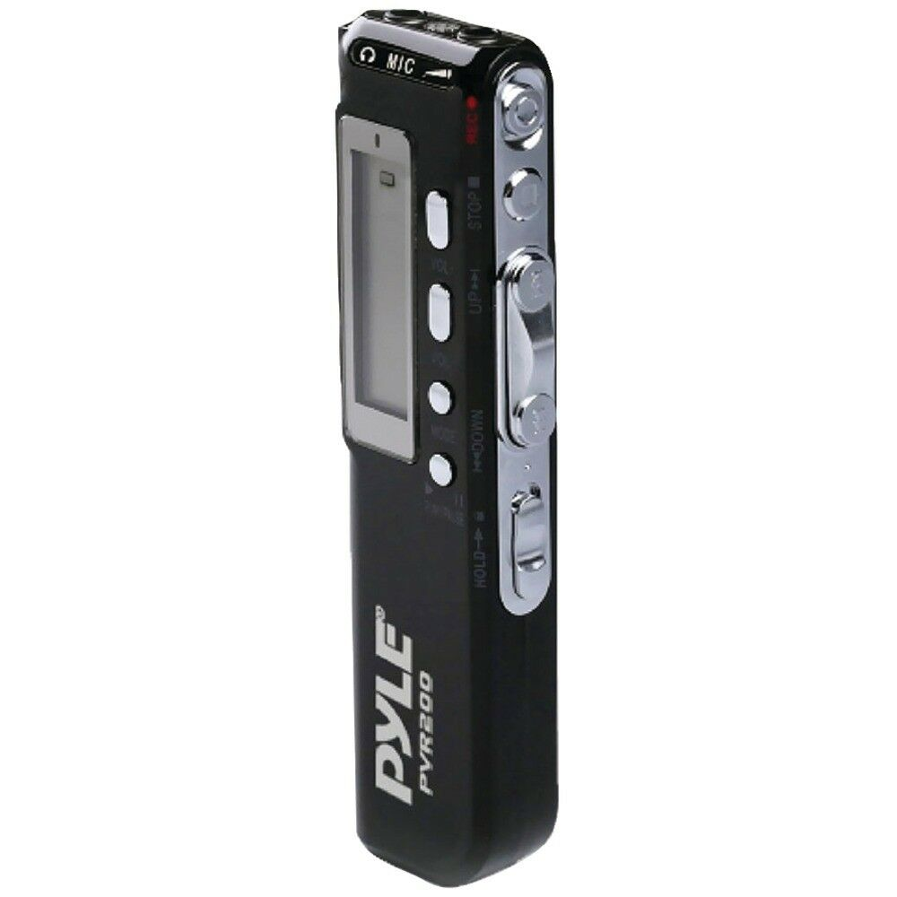 PYLE Pyle Home Digital Voice Recorder With 4gb Built-in Memory