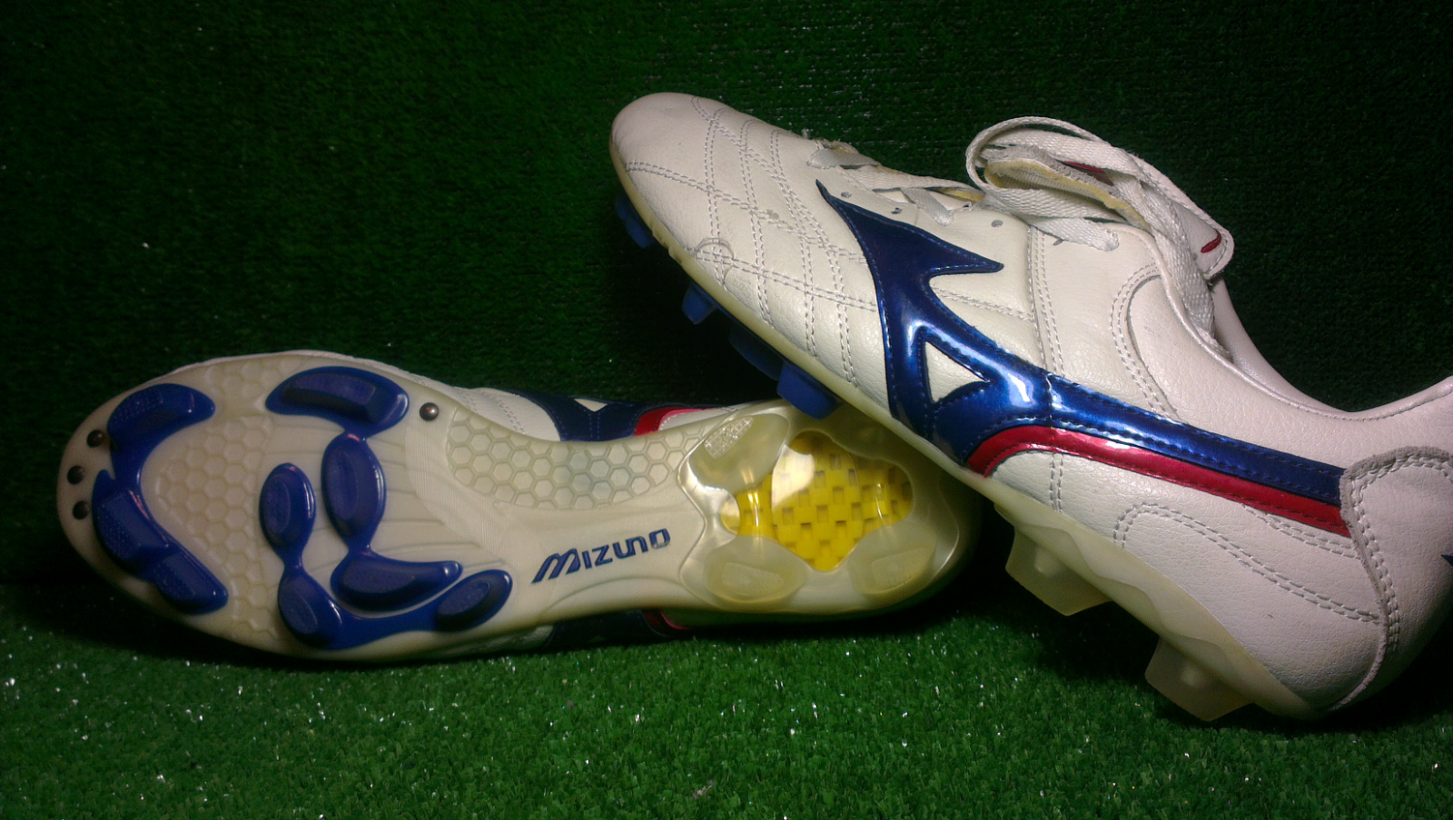 Mizuno Football stivali  Rivaldo Wave Cup 2002 FG US11 Made in Korea