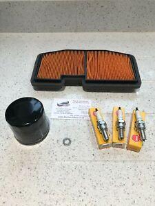 Triumph Street Triple 675 Service Kit Oil Air Filter Plugs 2013 on