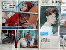 IL MESSAGGERO supplemento 27 nov 1960_  ROMA - JUVENTUS e CIRCO ORFEI a colori