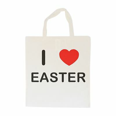 I Love Easter - Cotton Bag   Size choice Tote, Shopper or Sling