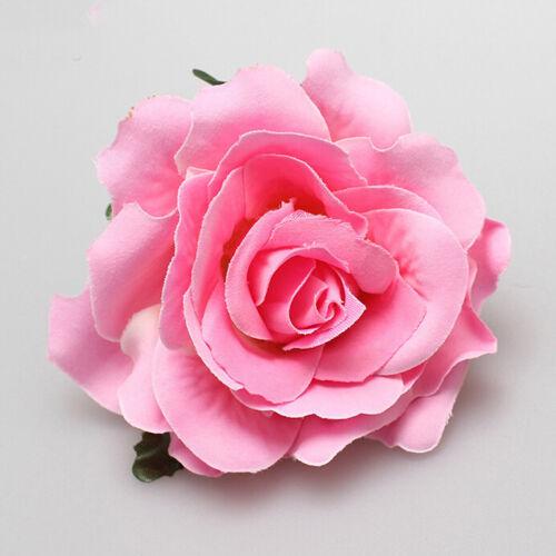 Rose Flower Hair Clip Hairpins Ornaments Bridal Wedding Wedding Hair Accessories