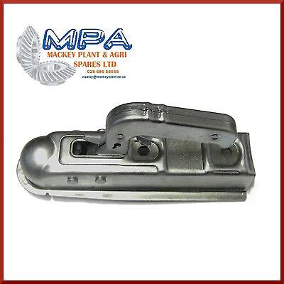 Genuine Al-KO Pressed steel 50mm Locking Coupling Hitch with key Boat Trailer