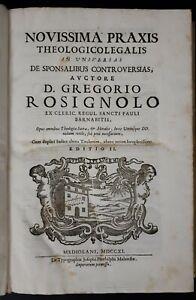 G-Rosignolo-Nouissima-Praxis-Theologicolegalis-De-Sponsalibus-1711
