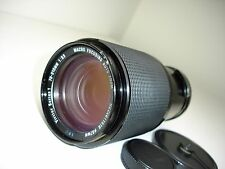 VIVITAR Series 1 70-210mm F 3.5 VMC lens, PENTAX M42 screw mount.  SN22611519