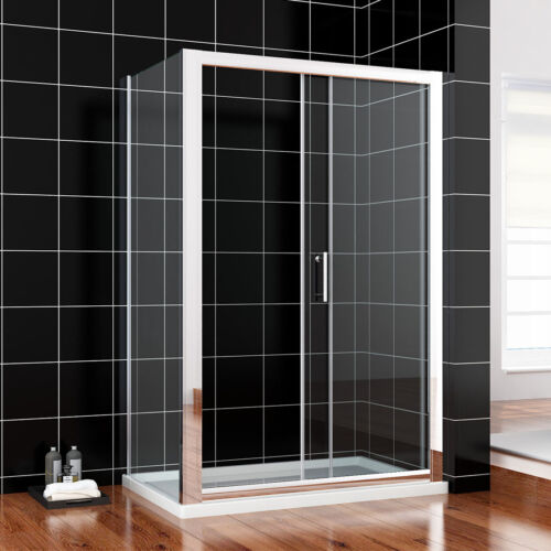 1700x800mm Sliding Shower Door Enclosure Cubicle Side Panel 6mm  Screen Glass