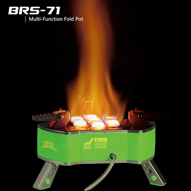 BRS-71 Portable Outdoor Camping Gas Stove High Mountaig Outdoor Stove 9800W