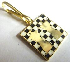 Chess Queen King Checkmate Board Game Backpack Jacket Coat Bag ZIPPER PULL CLIP