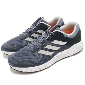 sports shoes a814e ec144 Image is loading adidas-Aerobounce-ST-2-Blue-Silver-Orange-Men-